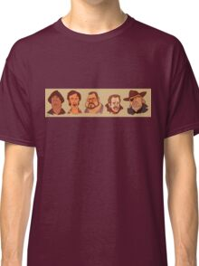 Coen Brothers Characters Classic T-Shirt