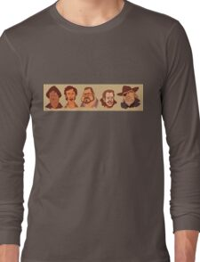 Coen Brothers Characters Long Sleeve T-Shirt