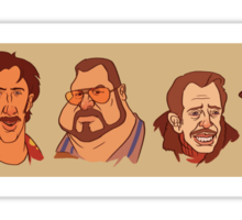 Coen Brothers Characters Sticker