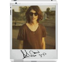 Alex Polaroid iPad Case/Skin