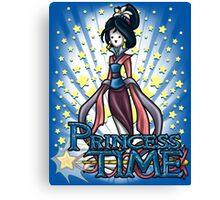 Princess Time - Mulan Canvas Print