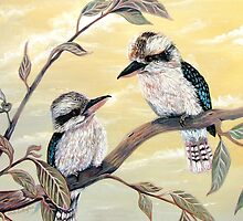 Kookaburra Magic by © Linda Callaghan