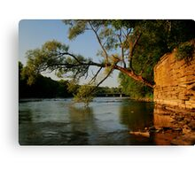 River HDR Canvas Print