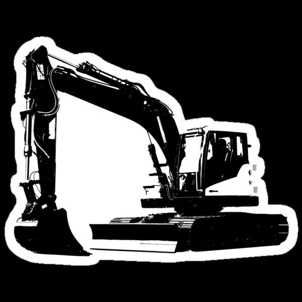 Excavator by Tim Cox
