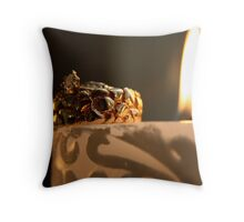 Loves Flame Throw Pillow