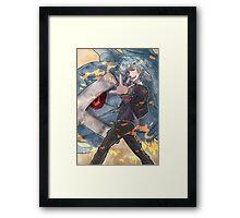 Pokemon - Steven Stone Framed Print