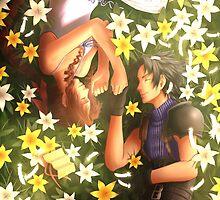 Final Fantasy VII - Zack and Aerith by Keikilani