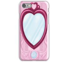 Kururin Mirror Change! PreChan Mirror iPhone Case/Skin