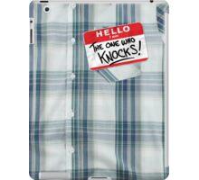 The One Who Knocks iPad Case/Skin