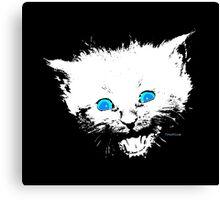 Happy Little Kitten Canvas Print