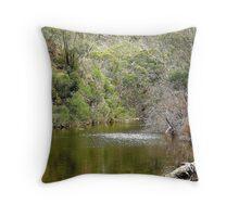 Lerderderg River - Bacchus Marsh, Victoria Throw Pillow
