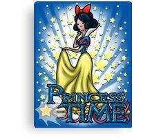 Princess Time - Snow White Canvas Print