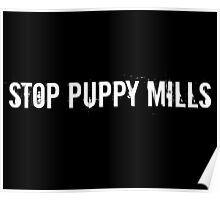 Stop Puppy Mills Poster