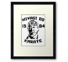 Miyagi Do Karate Framed Print