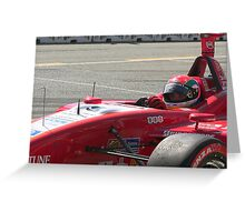 Indycar - Surfers Paridise 2007- Justin Wilson Greeting Card