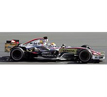 Juan Pablo Montoya - 2006 Australian Grand Prix  Photographic Print