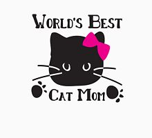 World's best cat mom Men's Baseball ¾ T-Shirt