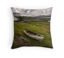 Country Ireland.  Throw Pillow