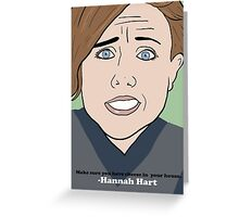 Harto Greeting Card