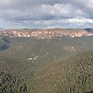Grose Valley, Blue Mountains by Blue Gum Pictures