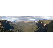 Grose Valley, Blue Mountains Photographic Print