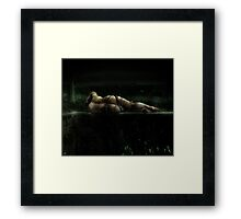 emotional inversion Framed Print