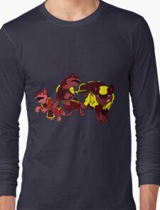 Knightic Wolf Line T-Shirt