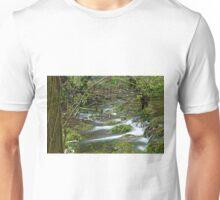 Woodland Stream, Monk's Dale Unisex T-Shirt