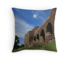 The ancient bridge II. Throw Pillow