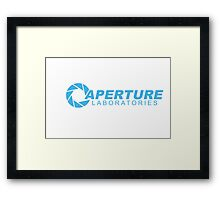 Aperture Laboratories Framed Print