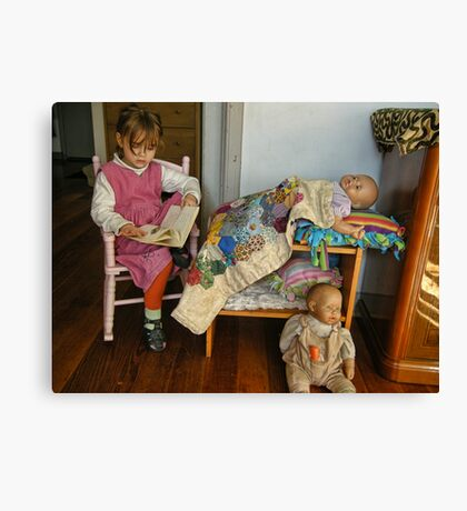 The Babysitter Canvas Print