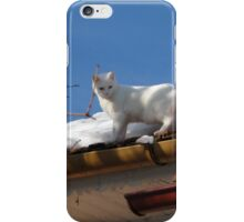 Up On the Roof with Albie iPhone Case/Skin