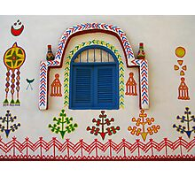 Artistic Facade - Nubian Village Photographic Print
