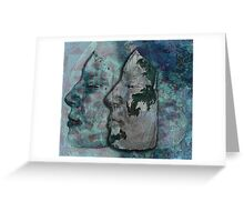 Lunar chameleon - Soulmates series Greeting Card
