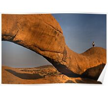 Rock Arch Namibia Poster