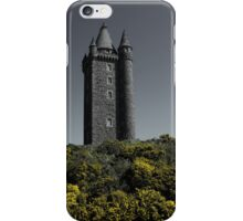 Scrabo Towering iPhone Case/Skin