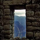 Inca Doorway by Elaine Stevenson