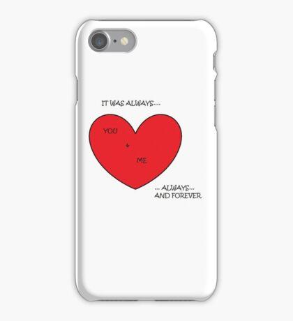 Wannadies - You and Me iPhone Case/Skin