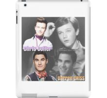 Glee Klaine Then and Now iPad Case/Skin
