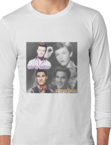 Glee Klaine Then and Now Long Sleeve T-Shirt