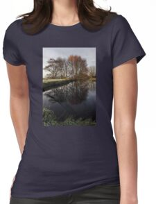 A Country Pond Womens Fitted T-Shirt