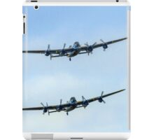 2 Lancasters in Formation iPad Case/Skin
