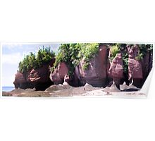 HopeWell Rocks Stitched Poster