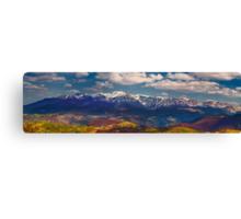 Mountains landscape Canvas Print
