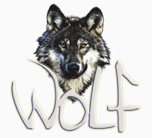 Wolf 1 Kids Clothes