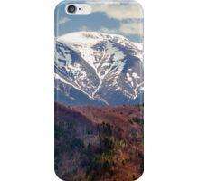 Mountains landscape iPhone Case/Skin