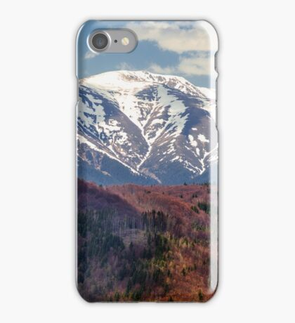 Mountains landscape iPhone Case/Skin
