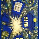 Exploding TARDIS by NotAnthea