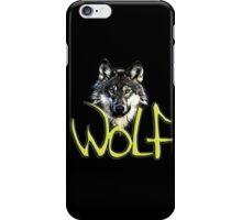 Wolf 3 iPhone Case/Skin