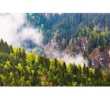 Parang mountains in Romania Photographic Print
